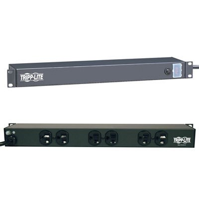 15A 6-Outlet Rackmount Power Strip - RS-0615-R
