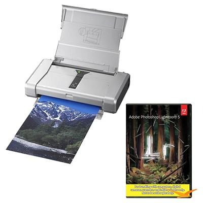 PIXMA iP100 Mobile Photo Printer with Photoshop Lightroom 5