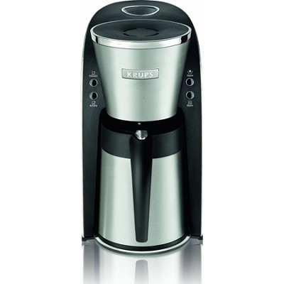 Thermal Filter 10-Cup Coffee Maker with Stainless Steel Housing