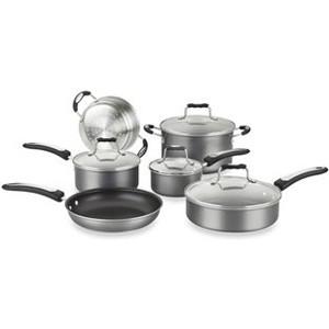Cuisinart Weight Watchers 10-Piece  Aluminum Cookware Set w/ Ergonomic Handles