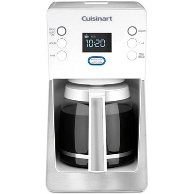 Perfec Temp 14-Cup Programmable Coffeemaker; White - DCC-2800W