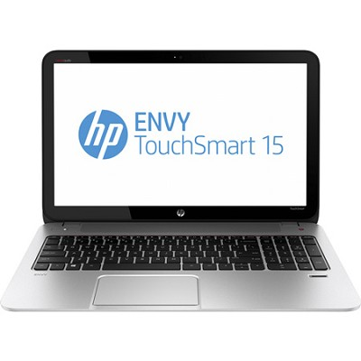 ENVY TouchSmart 15.6` 15-j070us Notebook - AMD Elite Quad-Core A10-5750M Proc.