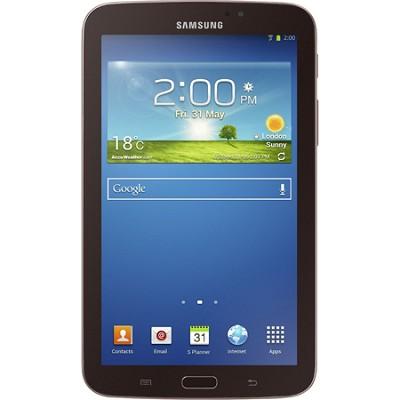 Galaxy Tab 3 7.0` Gold-Brown 8GB Tablet  - OPEN BOX