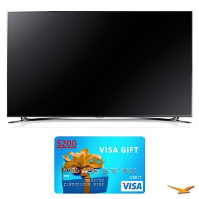 UN60F8000 60` 1080p 240hz 3D Smart WiFi LED HDTV Bundle