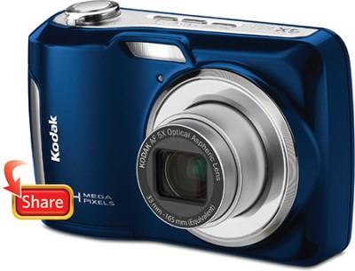 EasyShare C195 14MP 3.0 inch LCD Digital Camera - Blue