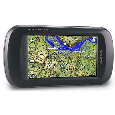 Montana 650t Rugged Worldwide GPS w/ US Topographic & 5MP Camera