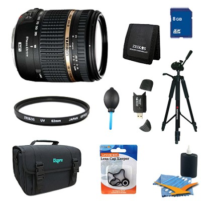 18-270mm f/3.5-6.3 Di II VC PZD Aspherical Lens Pro Kit for Canon EOS