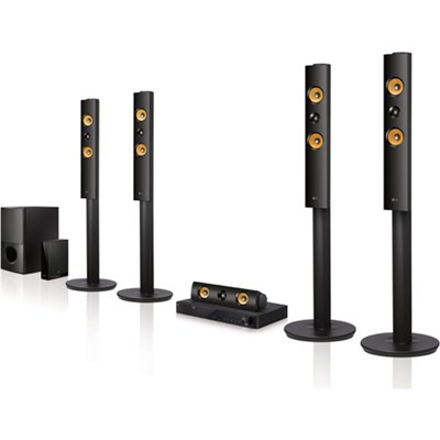 LHB755W 5.1ch 1200W 3D Blu-ray Smart Home Theater System - OPEN BOX
