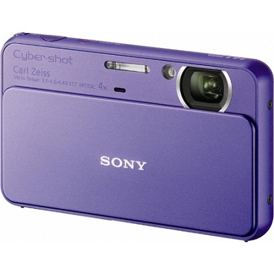 Cyber-shot DSC-T99 14MP Violet Touchscreen Digital Camera