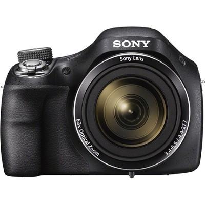 DSC-H400/B 63x Optical Zoom 20.1MP HD Video Digital Camera - OPEN BOX