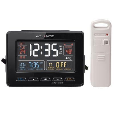 AcuRite Atomic Clck Dual Alarm