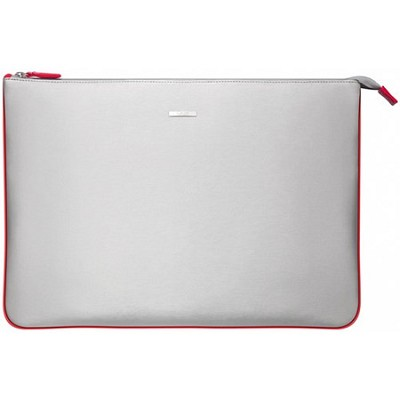 VGP-CPC1/R 15.5` Notebook Carrying Pouch - Silver, Red Interior