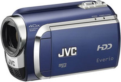 Everio GZ-MG630 60G Hard Disk Drive Camcorder (Blue)