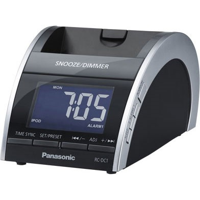 RC-DC1 iPod Clock Radio Docking Speaker System