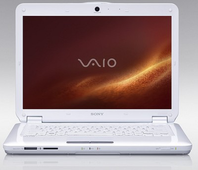 VAIO VGNCS118E/W 14.1 PC Notebook