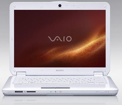 VAIO VGNCS118E/W 14.1 PC Notebook