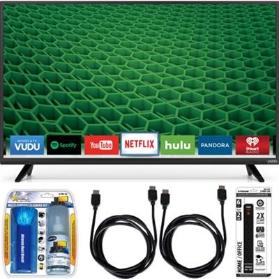 D43-D2 D-Series 43` 120Hz Full-Array LED Smart TV Essential Accessory Bundle