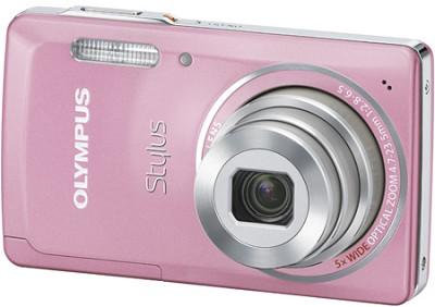 Stylus 5010 14MP 2.7` LCD Digital Camera (Pink)