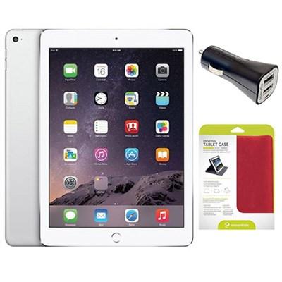 iPad Air 1st Gen. 16GB Wi-Fi + Car Charger Bundle, 9.7in - Silver (Refurbished)