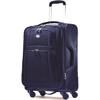 iLite Supreme 21 Inch Spinner Suitcase (Sapphire Blue)