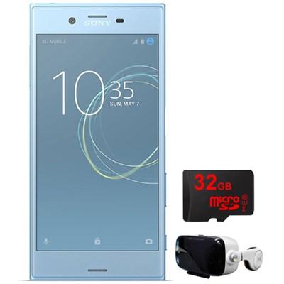 Xperia XZs 64GB 5.2` Smartphone Unlocked Blue w/32GB+Virtual Reality Cinema