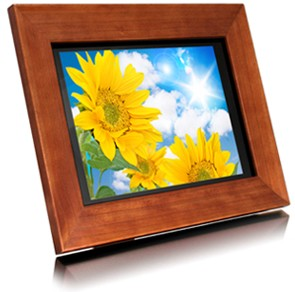 ADMPF311F - 11` Digital Photo Frame w/ 1GB Memory, Wireless Remote