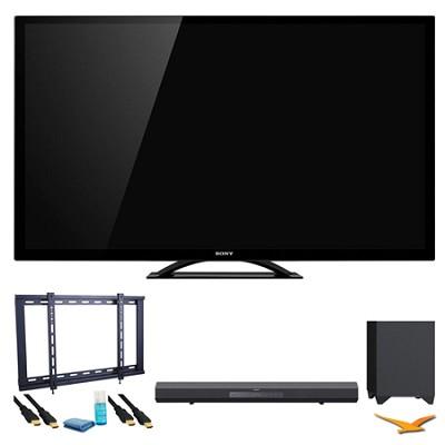 KDL55HX750 55` 3D Wifi XR 480hz LED HDTV Surround Sound Bundle