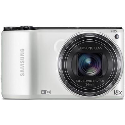 WB200F 14.2 MP BSI CMOS 18x Opt Zoom Digital Camera - White
