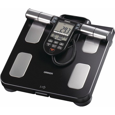 HBF-516B Full-Body Sensor Body Composition Monitor & Scale - Black