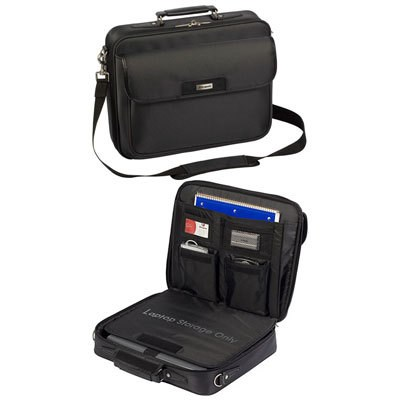 Zip-Thru Traditional 15.4` Case for Laptop - TBC023US
