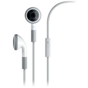 OEM 3.5mm Stereo White Headset with Mic for Apple iPhone 4 Verizon, iPad, iPod