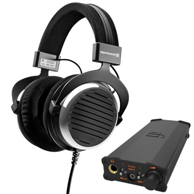 BeyerDynamic DT-990 Over-Ear 3.5mm Wired Headphones Bundle