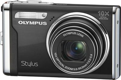Stylus 9000 12MP 2.7` LCD Digital Camera (Black) value Bundle