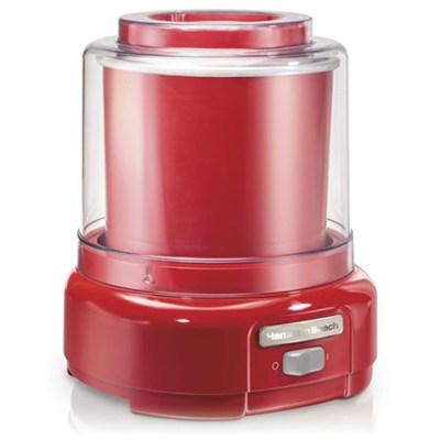 Ice Cream Maker, 1.5-Quart, 68881Z(Red)