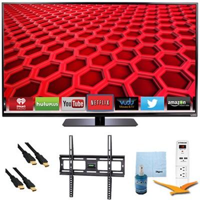 50` LED Smart HDTV 1080p Full HD 120Hz Plus Mount & Hook-Up Bundle - E500i-B