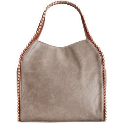 Grayson Shoulder Bag - Grey