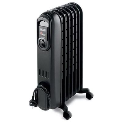 TRD0715T Safeheat 1500W Portable Oil-Filled Radiator Heater - Black