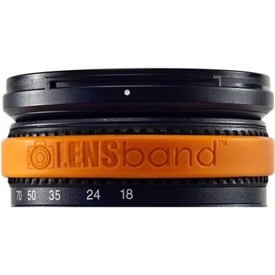 Stop Zoom Creep for One Size Fits All Lens - Orange