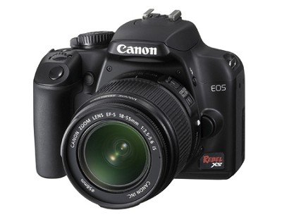 EOS Digital Rebel XS w/ EF-S 18-55mm IS Lens (Black) - REFURBISHED