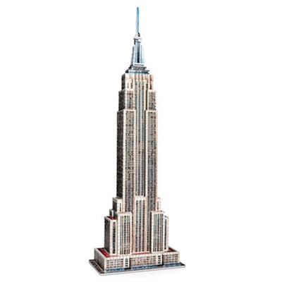 3D Empire State Building Jigsaw Puzzle, 975-Piece