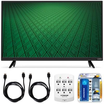 D-Series D32hn-D0 32` Class Full-Array LED HD TV Hook-Up Bundle