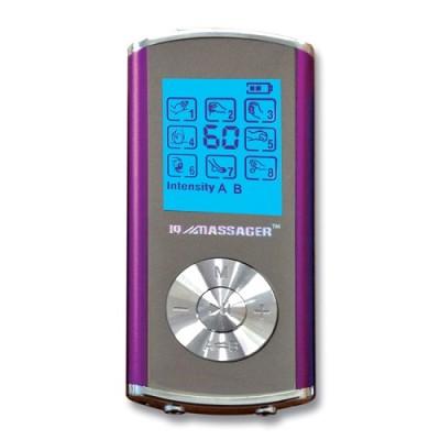 Pro IVS 8 Modes 2-Person Digital TENS Stimulator in Purple