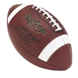 Four Panel NFHS Full Grain Leather Game Football (Official)