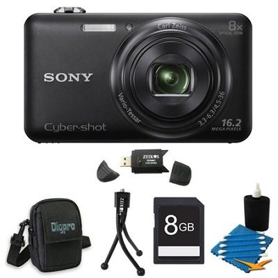 DSC-WX80 16 MP 2.7-Inch LCD Digital Camera Black Kit