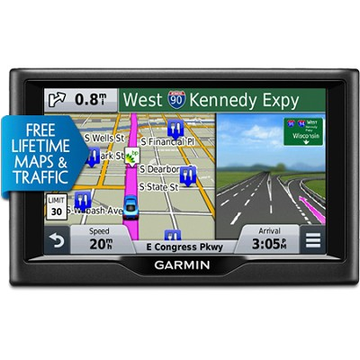 nuvi 58LMT 5.0` Essential Series 2015 GPS Navigation System with Maps & Traffic