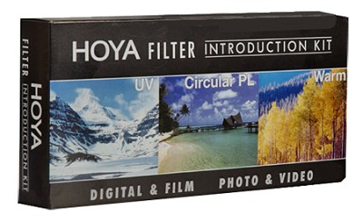 62mm Introductory Filter Kit, UV, Circular Polarizer, 81A and Filter Wallet
