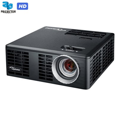 WXGA 700 Lumen 3D Ready Portable DLP LED Projector with HDMI Refurbished