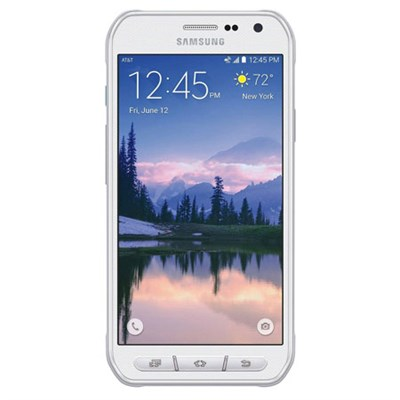 Galaxy S6 Active G890A 32GB Unlocked Smartphone - Camo White, OPEN BOX