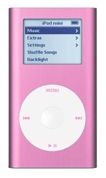 iPod mini 4GB 2nd Gen. MP3 Player - Pink