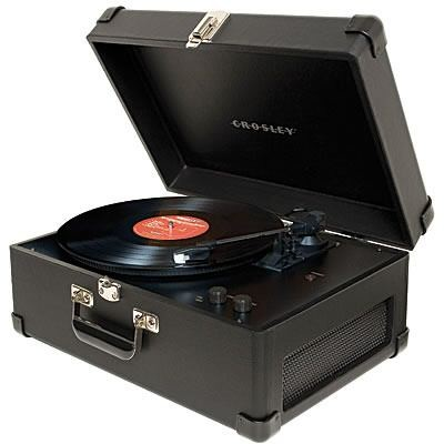 Keepsake USB Turntable - CR249-BK (Black)